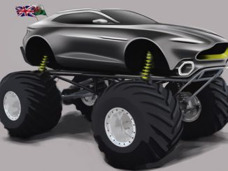 Aston Martin DBX Monster Truck - Project Sparta