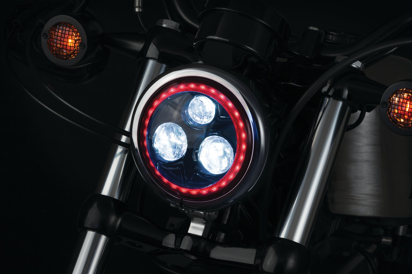 "Kuryakyn Orbit 5-3-4"" L.E.D. Headlights"