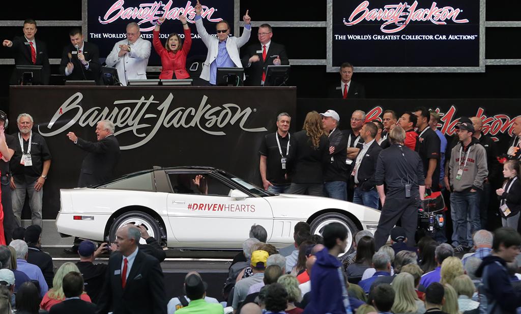 Barrett-Jackson Palm Beach - The Driven Hearts Corvette (Lot #3001)