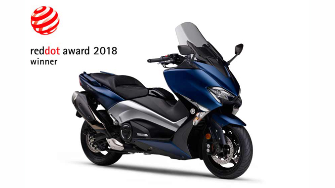 Yamaha Sports Commuter TMAX530 DX - Red Dot Award