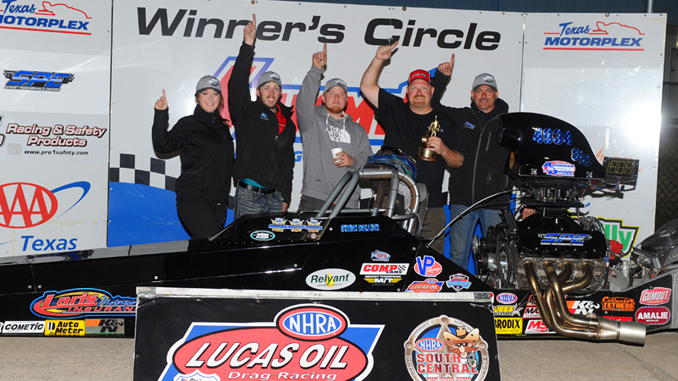 Steve Collier grabs another Wally in Super Comp - Texas Motorplex