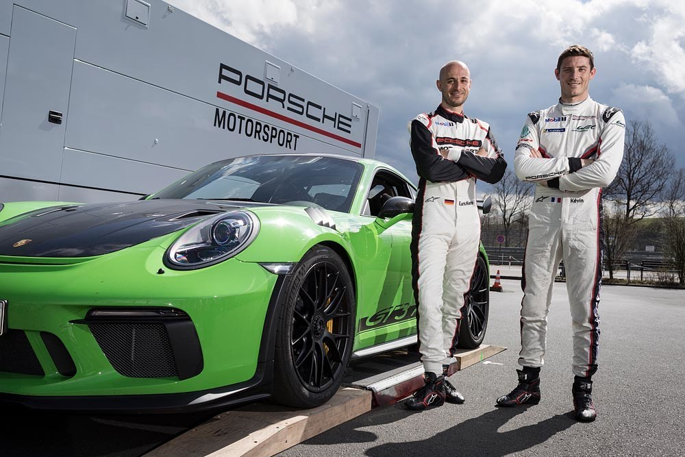 Porsche 911 GT3 RS Nuerburgring-Nordschleife