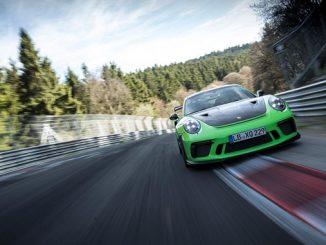 Porsche 911 GT3 RS Nuerburgring Nordschleife
