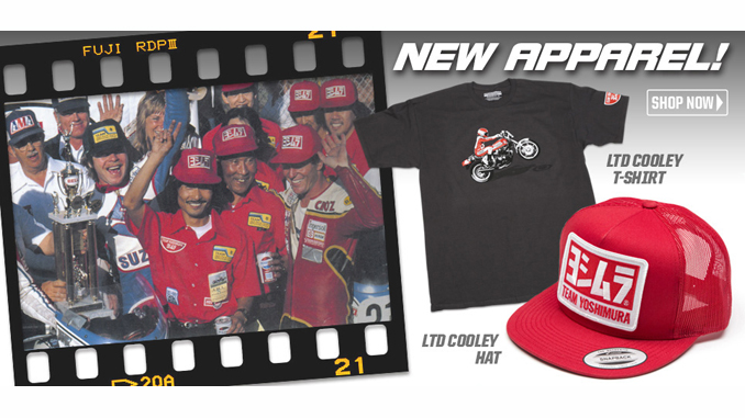 Yoshimura R&D Celebrates Wes Cooley with Throwback apparel