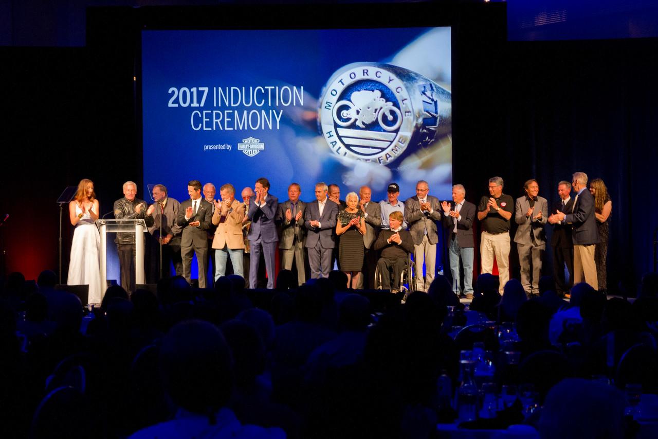 AMA Legends & Champions Weekend - 2017 AMA Motorcycle Hall of Fame Induction Ceremony (credit- Jeffrey Guciardo_AMA)