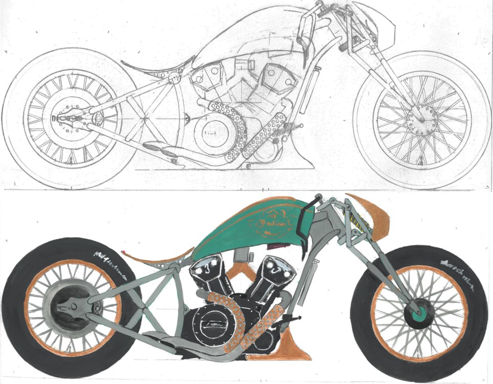Scout Bobber Build Off AlfredoJuarez
