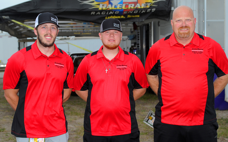 Collier Family Racing - Three Collier Men