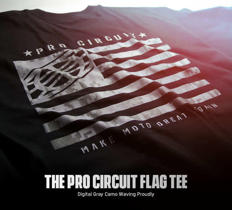 Pro Circuit Flag Tee