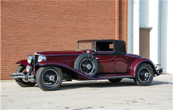 Auburn Spring - 1931 Cord L-29 Cabriolet (Courtesy of RM Auctions)