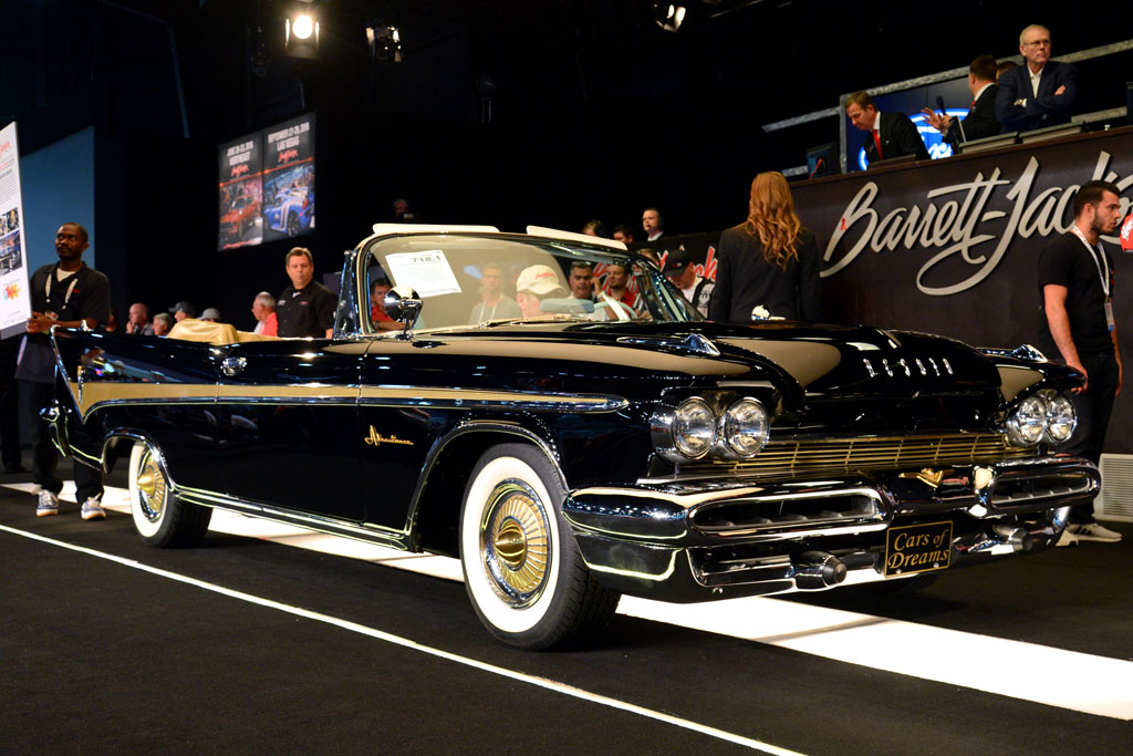 Barrett-Jackson - A 1959 DeSoto Adventurer Convertible (Lot #718.1)