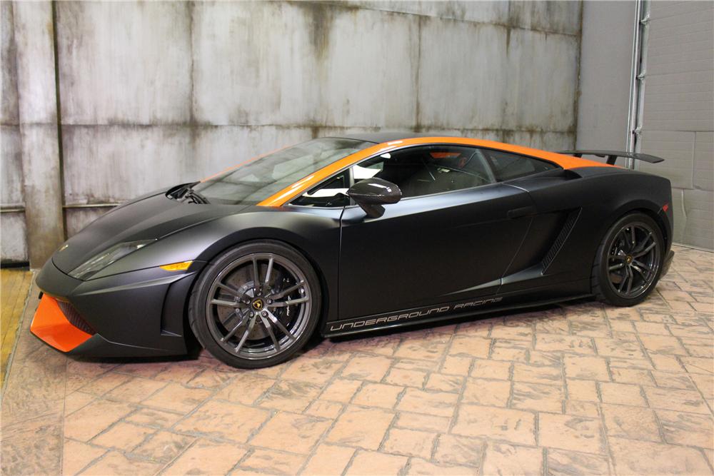 Barrett-Jackson Palm Beach - 2013 Lamborghini Gallardo LP570-4 Custom Superleggera (Lot #725)