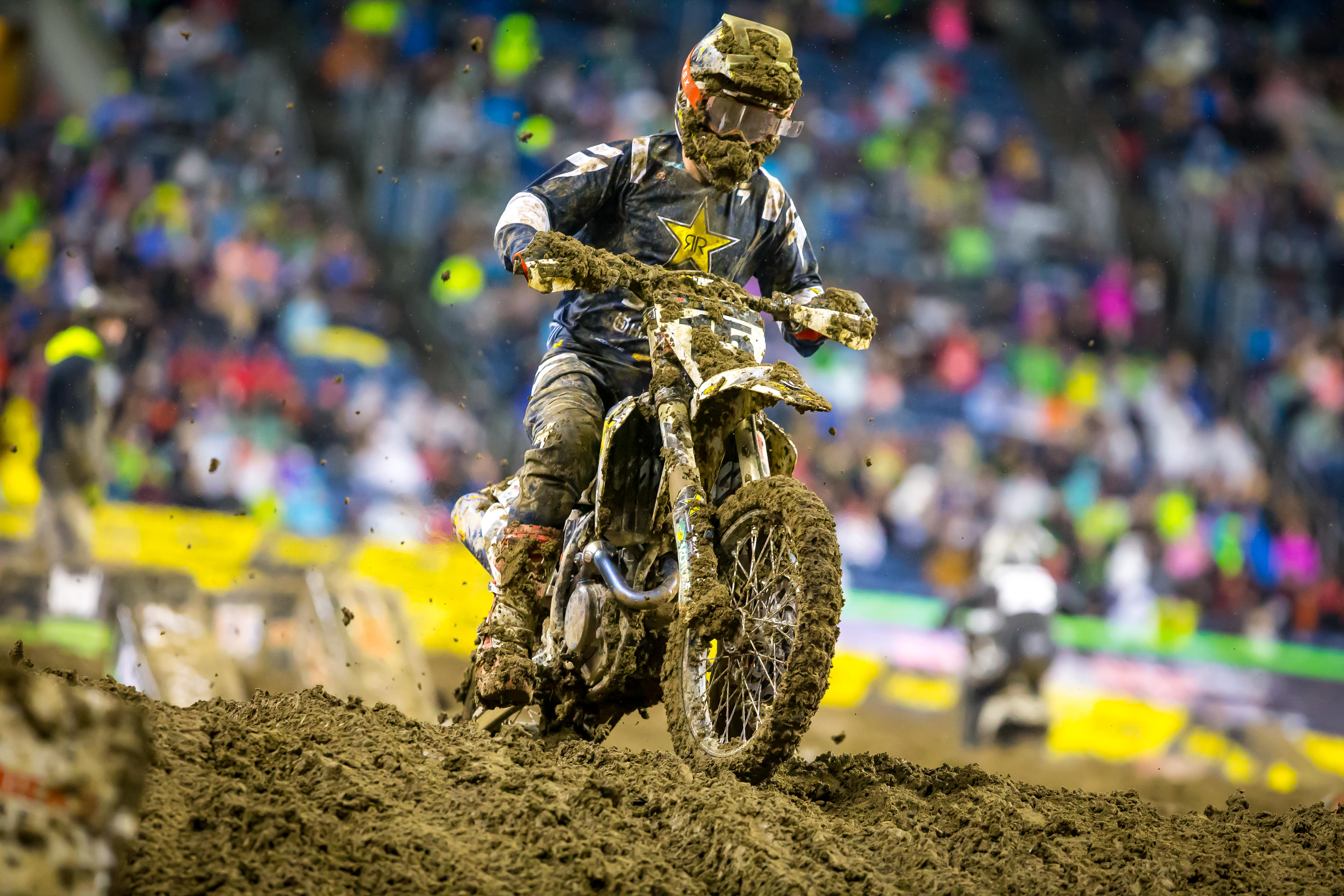 Dean Wilson battled the tough conditions to earn another top-10 finish