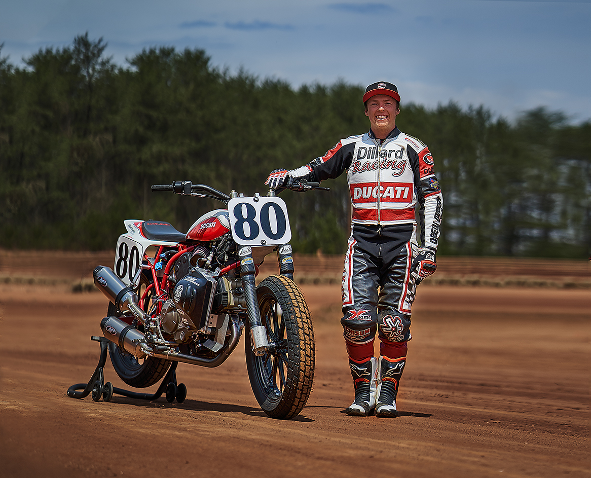 Ducati joins Stevie Bonsey and Lloyd Brothers Racing in the American Flat Track