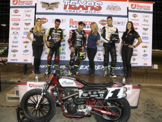 Indian Motorcycle Racing - Texas Half-Mile - podium
