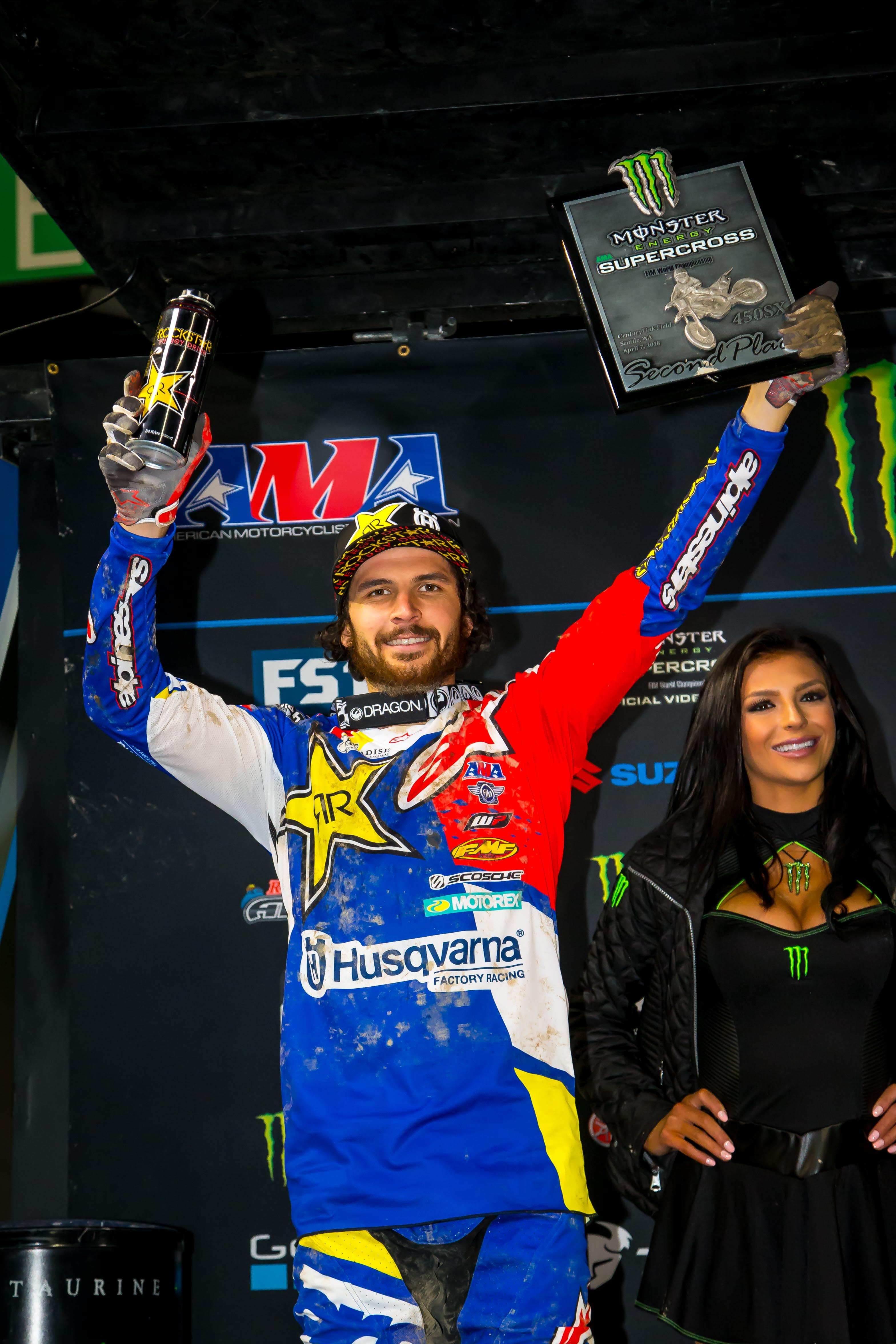 Jason Anderson finished 2nd in Seattle! (Photo_ Simon Cudby)