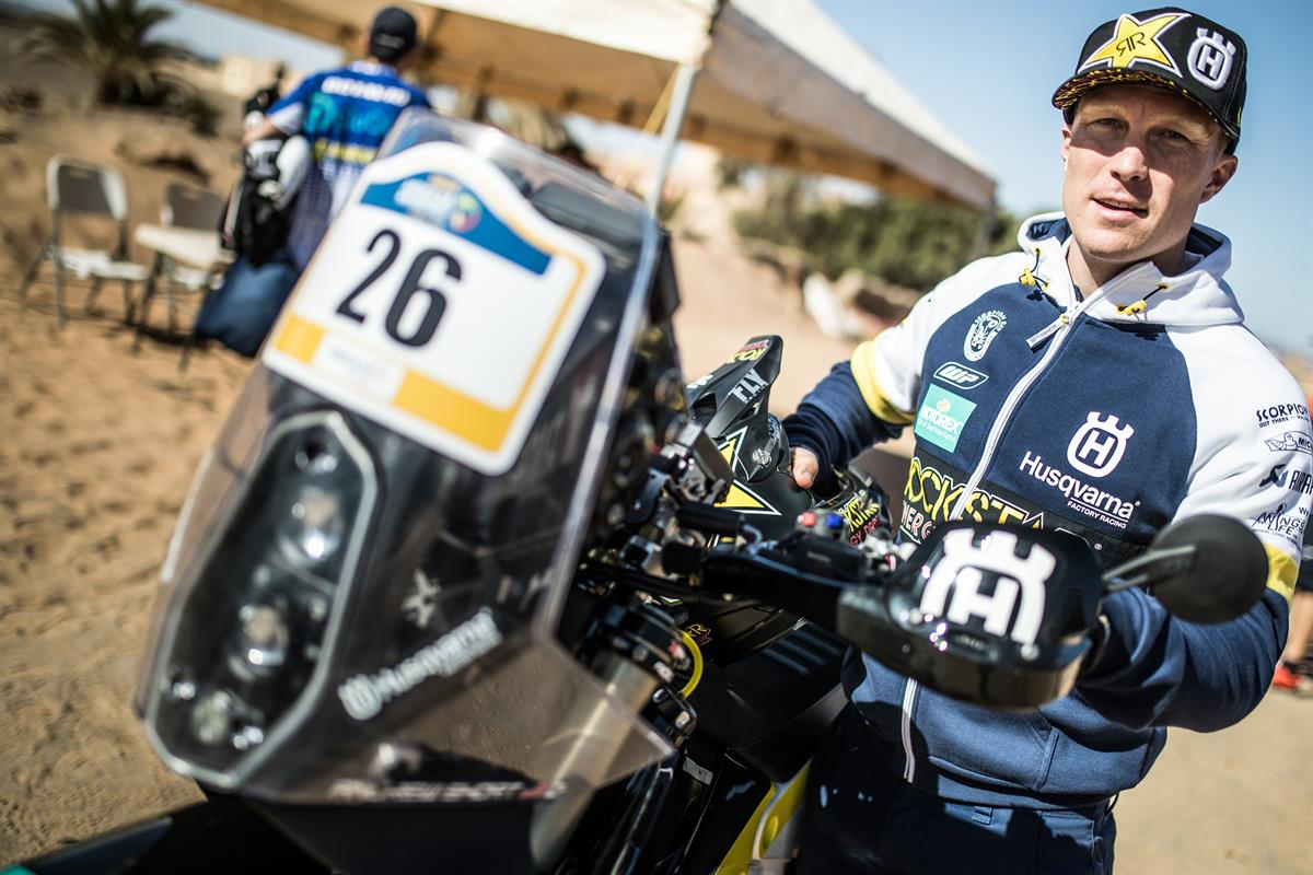 MERZOUGA RALLY - Andrew Short – Rockstar Energy Husqvarna Factory Racing