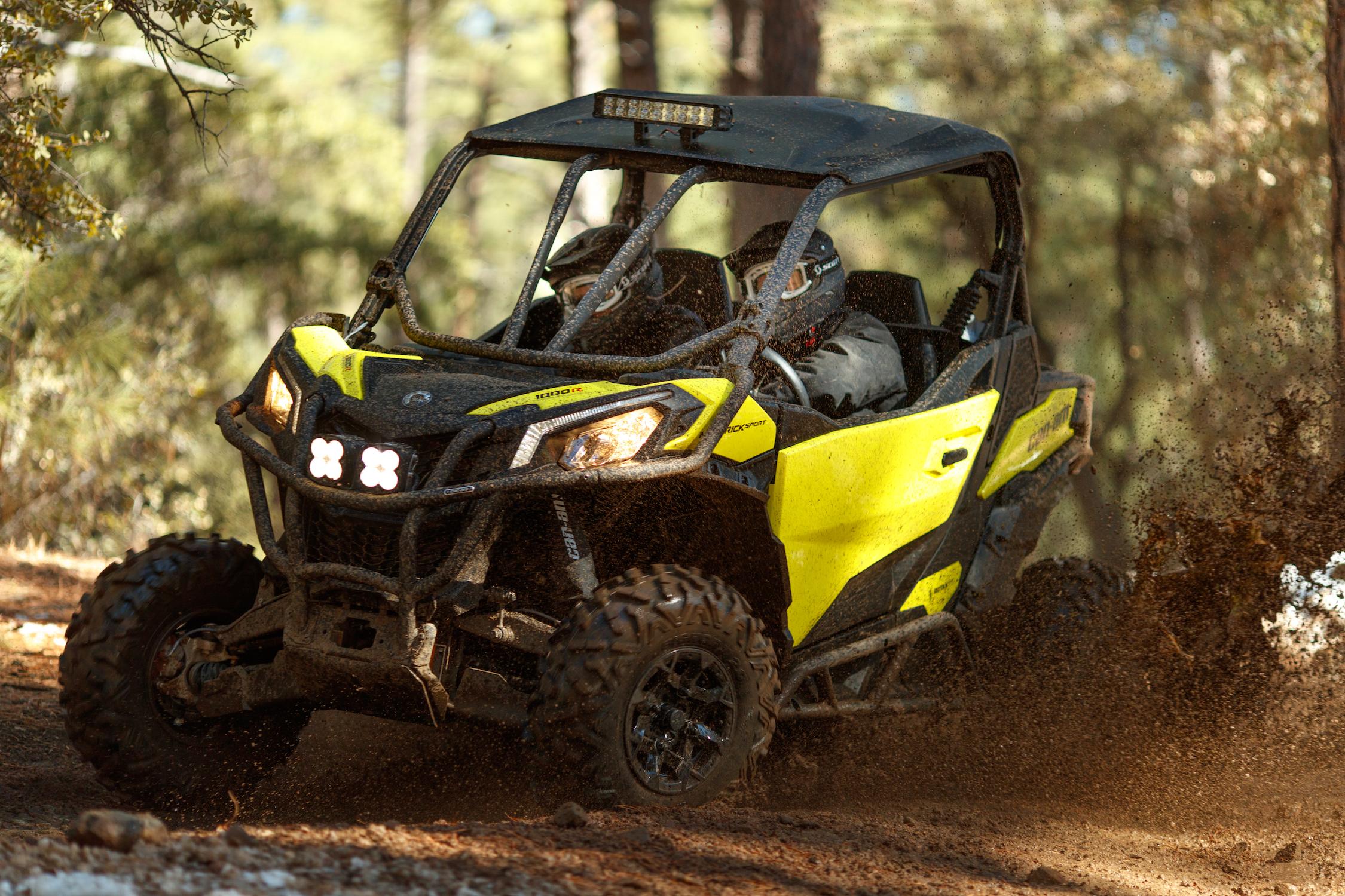 Maverick Sport DPS-SunburstYellow-Trail2