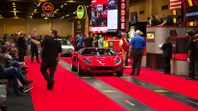 Mecum Auctions Houston 2006 Ford GT Supercharged 5.4-550 HP 138 Miles -Lot F225.1