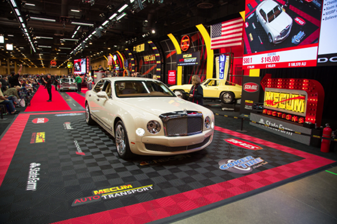 Mecum Auctions Houston - 2012 Bentley Mulsanne 6.75 505HP - Automatic Lot S80.1