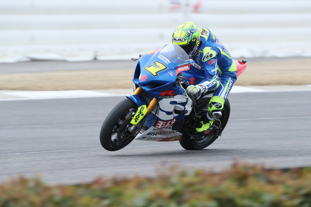 MotoAmerica Motul Superbike Champion Toni Elias is the man with the big number one on his bike