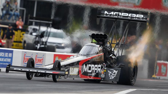 NHRA Top Fuel No.1 Qualifier - Pritchett