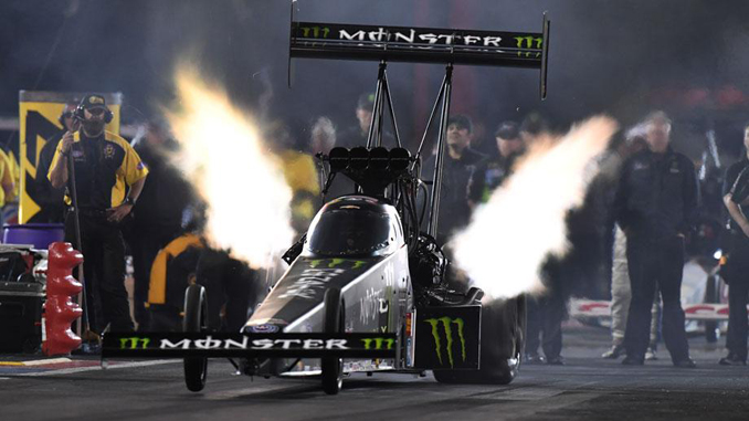 NHRA Top Fuel Preliminary No.1 Qualifier B. Force at SpringNationals