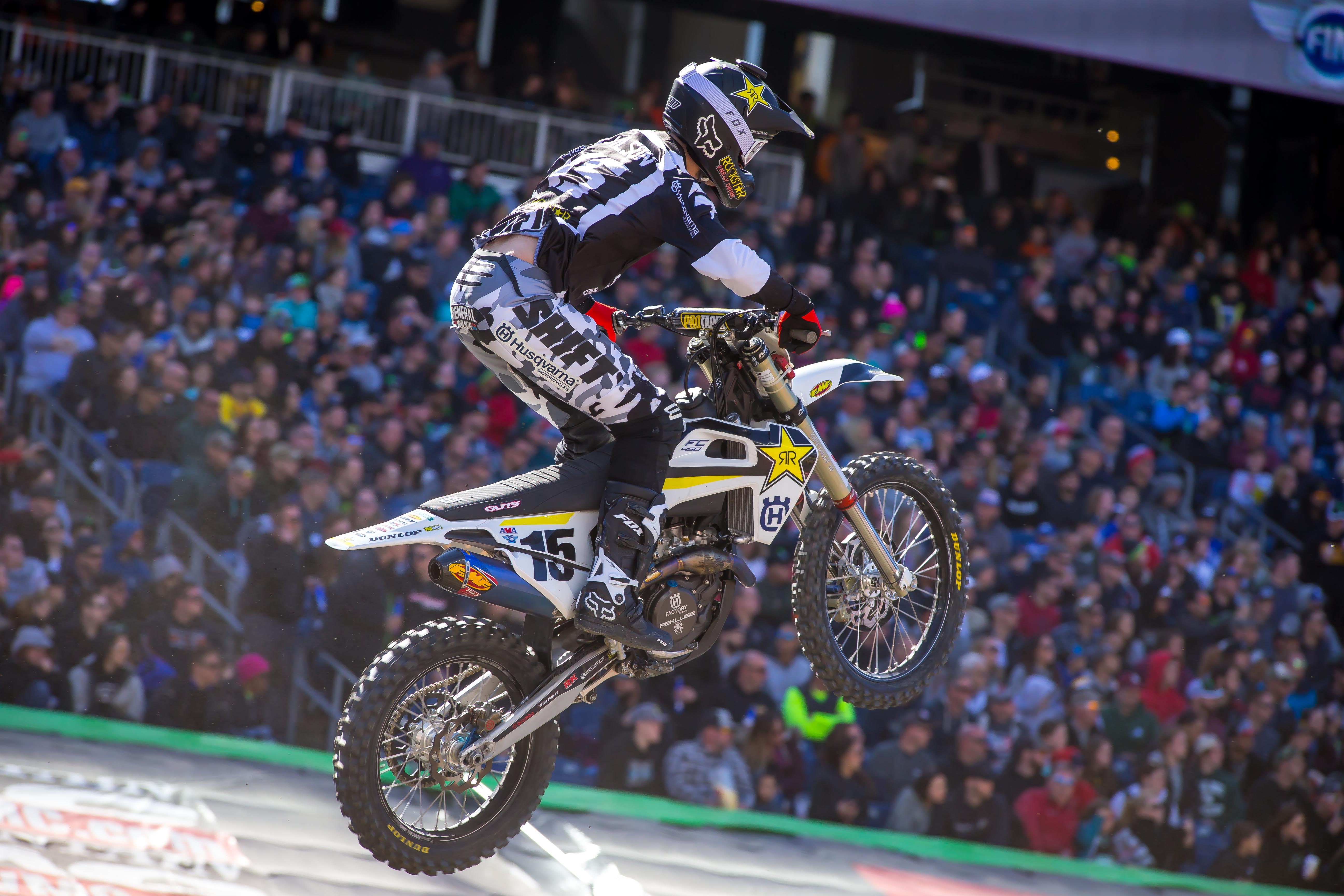Rockstar Energy Husqvarna Factory Racing's Dean Wilson (Photo_ Simon Cudby)
