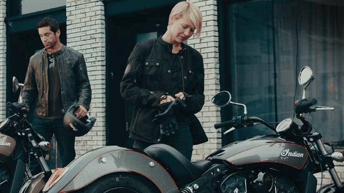 2866177 Mens Black 1901 Jacket by Indian Motorcycle