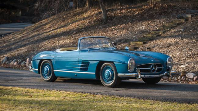 300 Sl Roadster And Gullwing Top Rm Auctions Fort