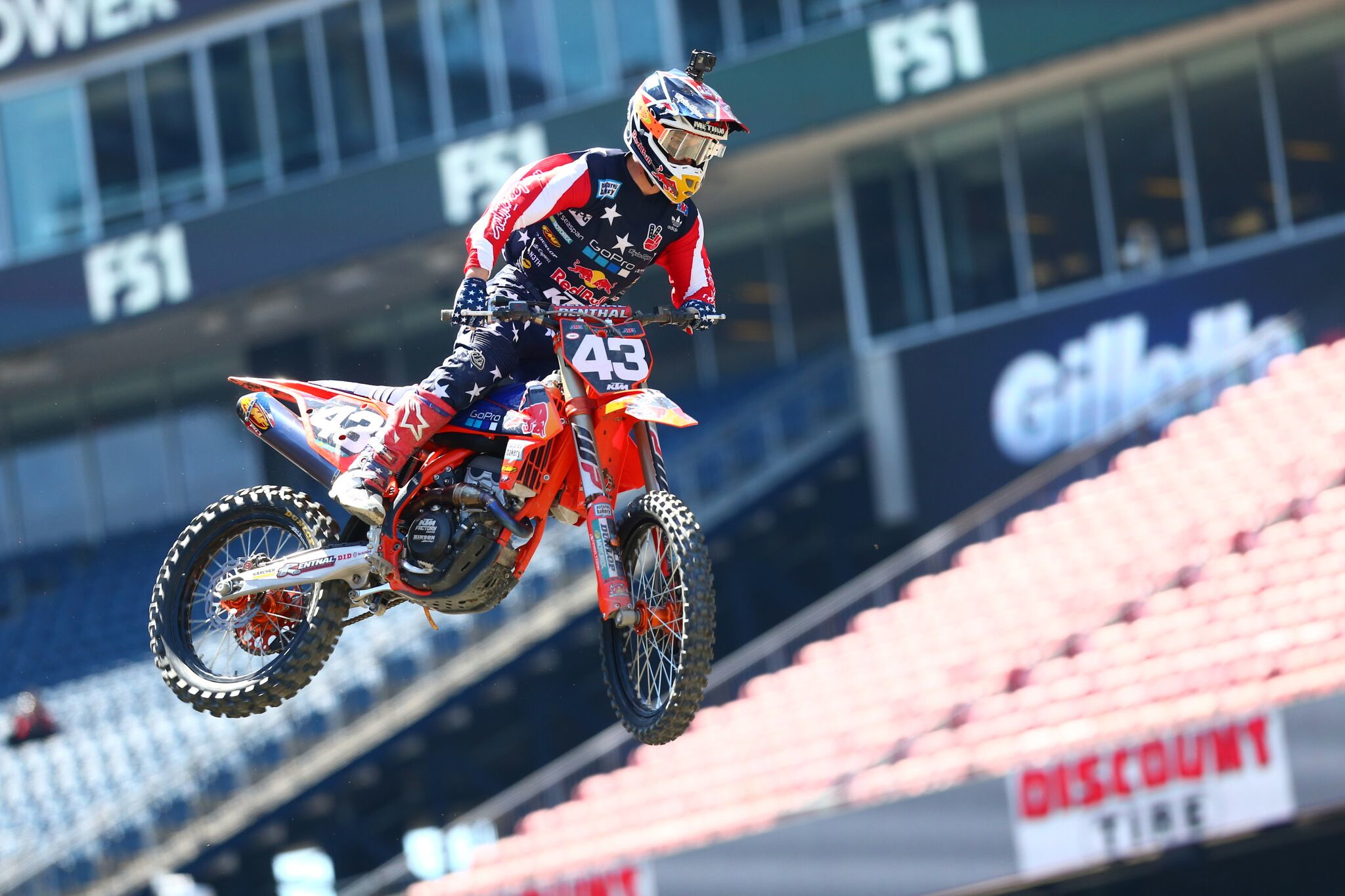 Troy Lee Designs-Red Bull-KTM's Foxborough supercross