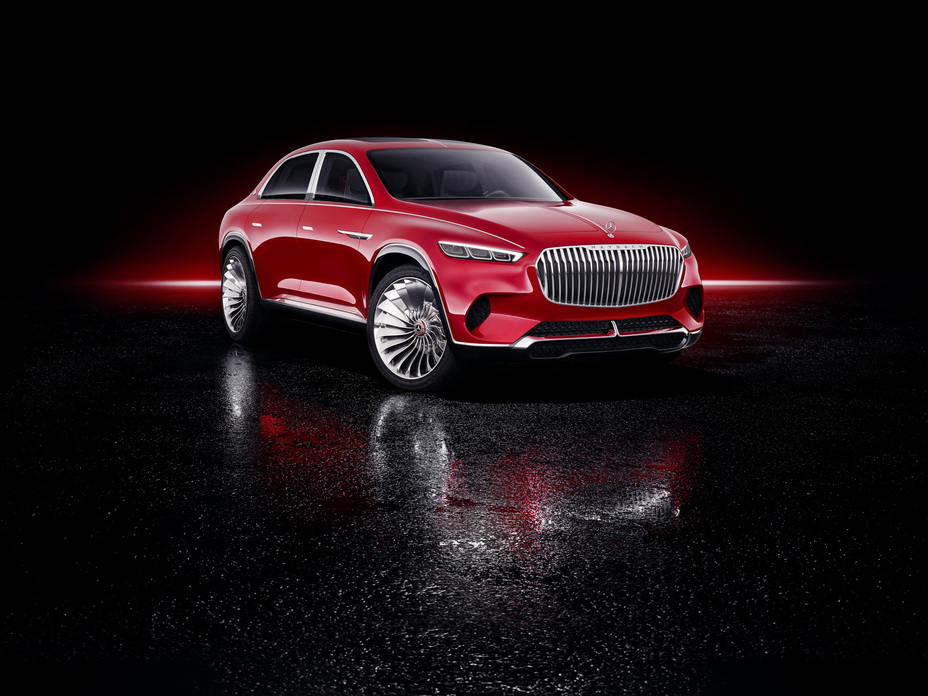 Vision Mercedes-Maybach Ultimate Luxury Showcar