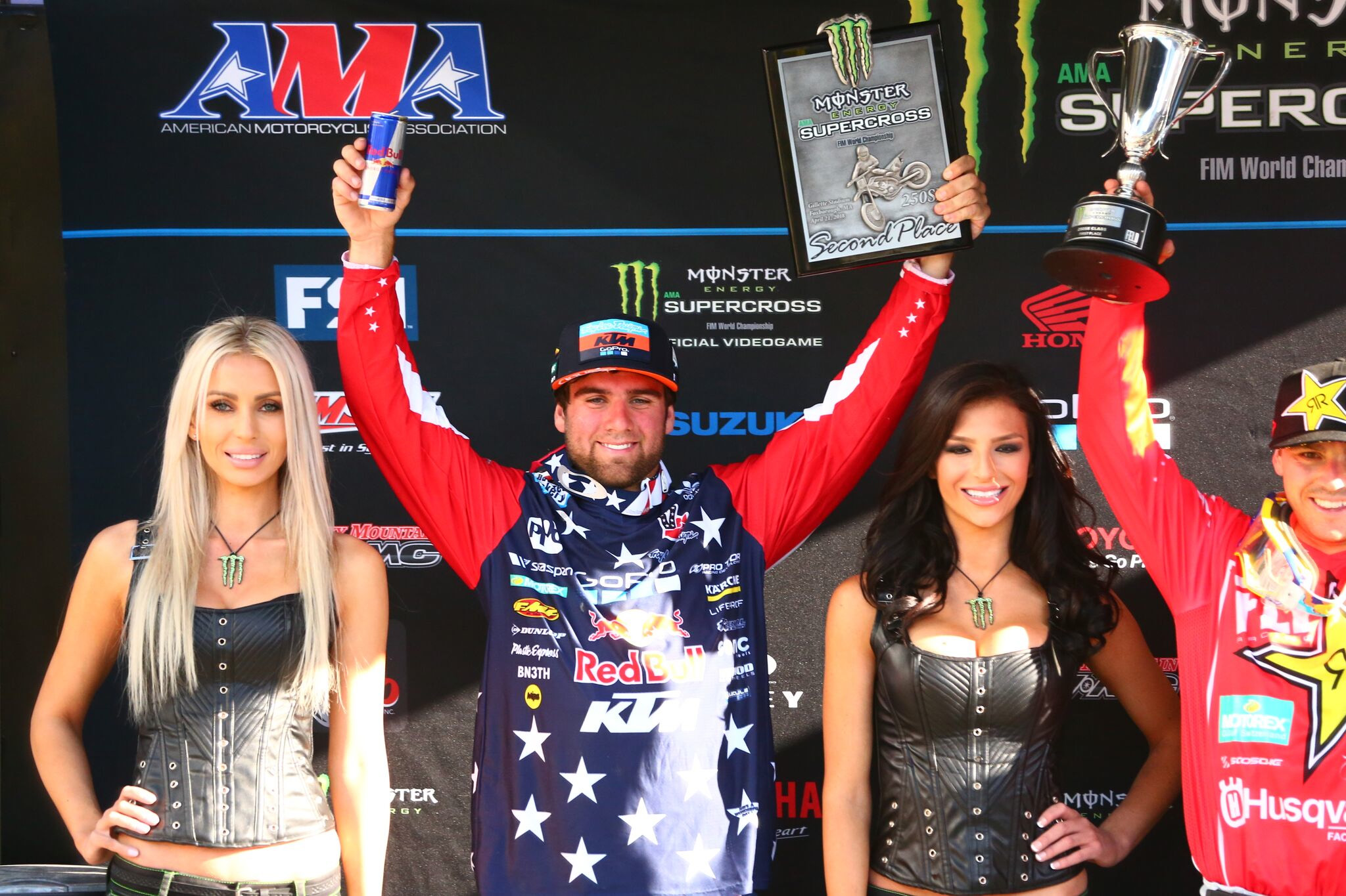 Troy Lee Designs-Red Bull-KTM's Smith Earns Fourth Podium Finish with Runner-Up in Foxborough