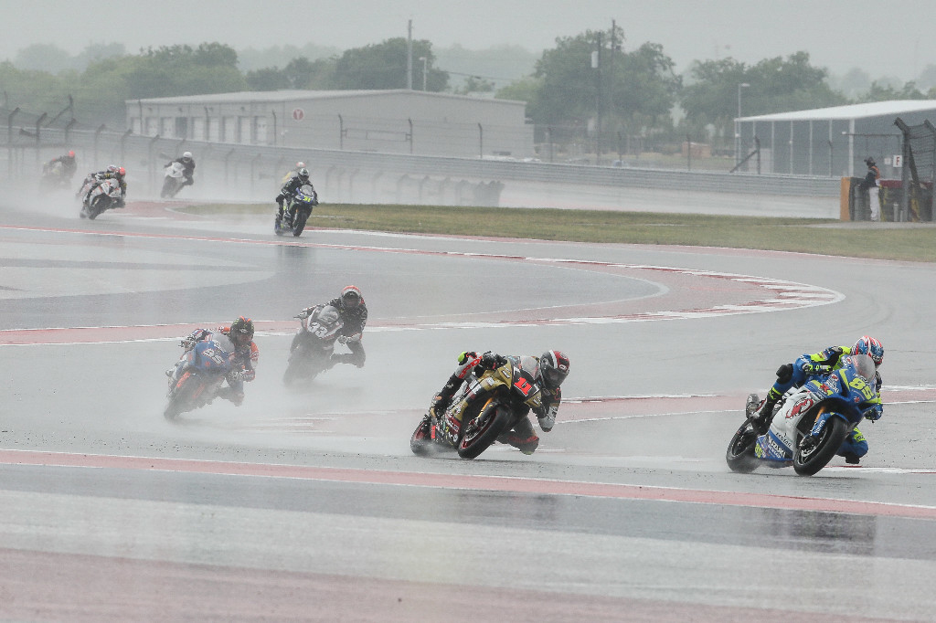 slosh their way around COTA