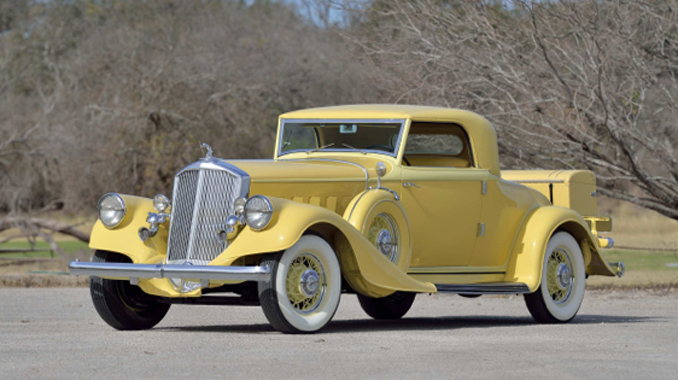 Dana Mecum's Original Spring Classic - 1933 Pierce-Arrow Model 836 Sport Coupe Upgraded V-12, Meadow Brook Best in Class (Lot S108.1)