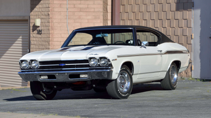 Dana Mecum's Original Spring Classic - 1969 Chevrolet Yenko Chevelle L72 427/425 HP, 1 of 99 Produced (Lot S145)