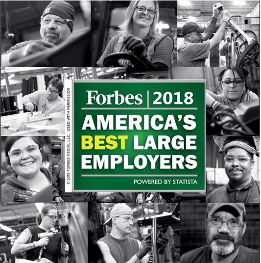Forbes Names Polaris as One of America's Best Large Employers