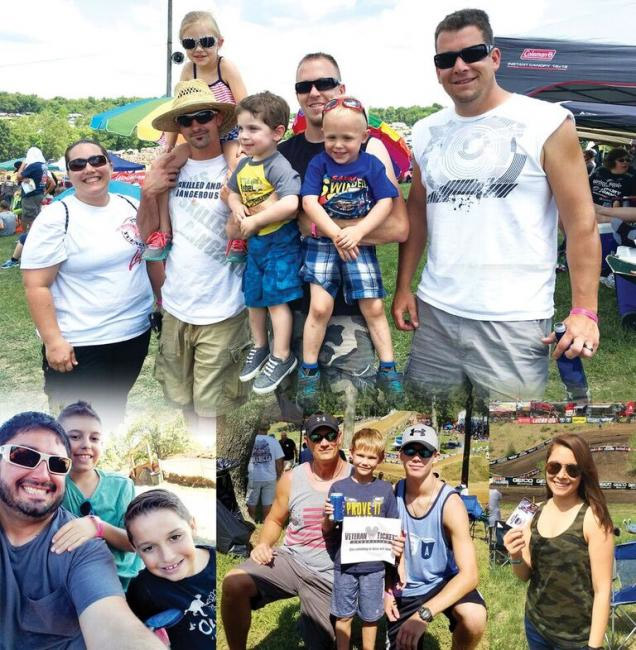 Vet Tix - Over 4,200 military personal and family members have attended Lucas Oil Pro Motocross events with tickets donated to the Veteran Tickets Foundation since 2012.