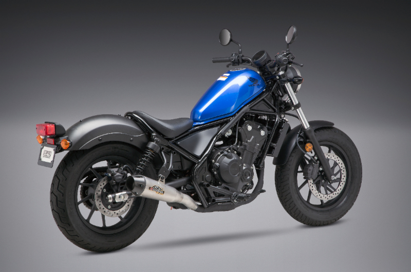 Yoshimura - 2018 Honda Rebel 500 with the new R-34 Street Series Slip-on