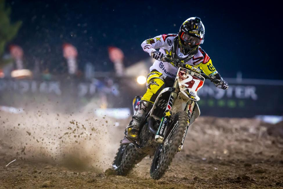Jason Anderson earned four wins, and 11 podiums before clinching his 2018 AMA/FIM Supercross World Championship.  - Rich Shepherd