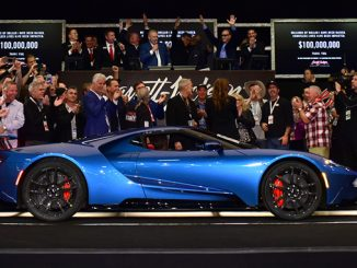 Barrett-Jackson is on its way to a banner year in 2018. The $2.5 million sale of this 2017 Ford GT at the 2018 Scottsdale Auction helped the company achieve the major milestone of surpassing $100 million raised for charity to date.