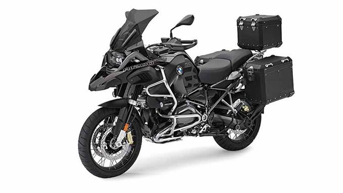 Bmw Motorrad Black Edition Aluminum Topcase And Side Cases