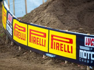 Pirelli Official Motorcycle Tire - Red Bud - brand signage