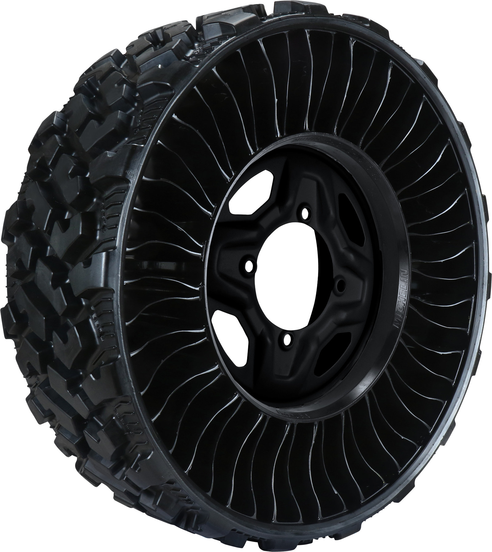 The MICHELIN X TWEEL UTV airless radial tire