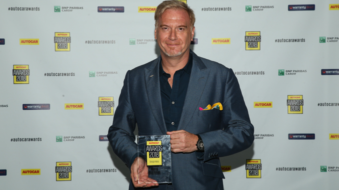 Aston Martin Chief Creative Officer is 2018 Autocar Design Hero