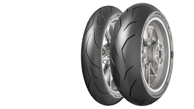 Dunlop SportSmart TT tire