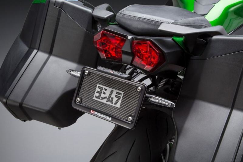 2018 Kawasaki H2 SX with Fender Eliminator kit (with optional Yoshimura LED signals)