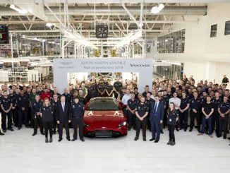 Aston Martin Vantage Start of Production