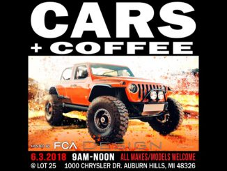 FCA Design Cars and Coffee