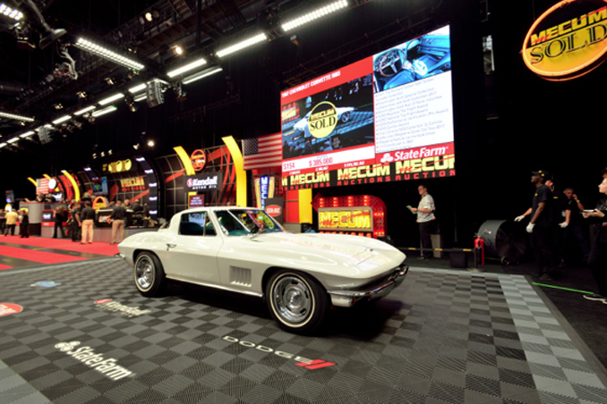 Mecum Spring Classic - 1967 Chevrolet Corvette N03 327-350 HP 1 of 2 Produced (Lot S154)
