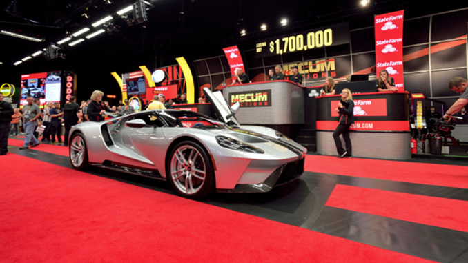 Mecum Spring Classic - 2017 Ford GT 7 Miles No. 48 of 250 Produced (Lot S87)